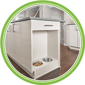 Pet Food Cabinet (Built-in)