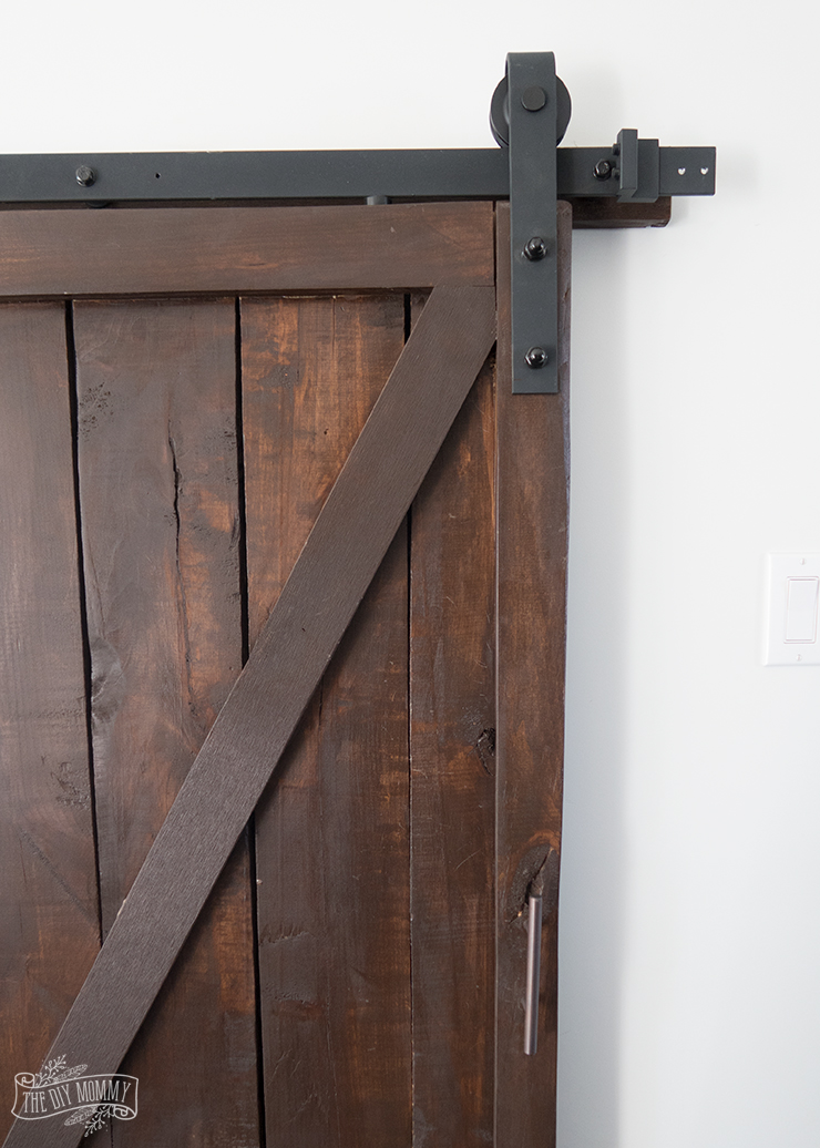 Under-Stairs-Pantry-with-Barn-Door---The-DIY-Mommy