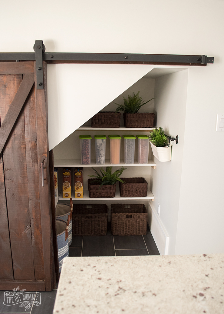 Under-Stairs-Pantry-with-Barn-Door-13--The-DIY-Mommy
